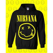Buso Chompa Con Estampado Personalizado Diseño: Nirvana