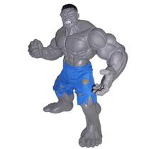 Boneco Gray Hulk Cinza Premium Grande 51cm Marvel Mimo Ecoop