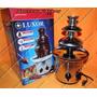 Fonte Cascata De Chocolate Torre Com 3 Andares 110v Ou 220v
