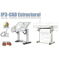 Ip3 Cad Estructural V1.58 Full Editable. Win 32 Bits/64 Bits
