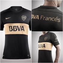 Nueva Camiseta De Boca Juniors Match 2016 2017 Nike Original