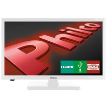 Tv Led 20 Philco Receptor Integrado, Hdmi, Usb E Vga-branca