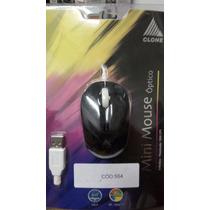 Mouse Optico Clone 3b Scroll Usb Preto/br 6269