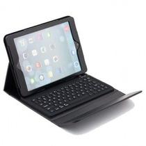Capa Teclado Bluetooth Em Couro Para Ipad Air 2 - A1566 A156