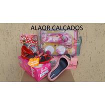 Sandália Infantil Kit3 Pares .obs: Cores Das Fotos N-33/34