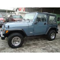 Jeep Wrangler 4-cilindros 4x4 97 Estandar
