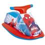 Jet Ski Inflável Homem Aranha Bóia Brinquedo Criança Piscina