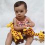 Girafa Pelucia 25 Cm Em Pe Antialergico