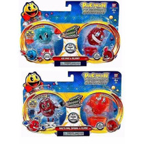 4 Bonecos Pac Man Spiners Ice Pac /blinky /pac´s Pal / Clyde
