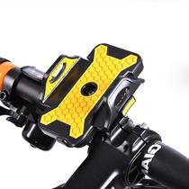 Soporte De Clip Celular Motocicleta Bicicleta Amarillo L1014