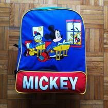 Mickey Mouse Mochila Disney Vintage Retro Usa Original Usa