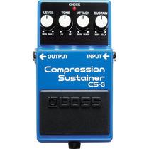 Pedal Para Guitarra Boss Cs-3 Compression Sustainer