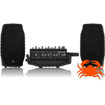 Caixa Acústica Bivolt Ppa200 Behringer Nova Garantia Nfe