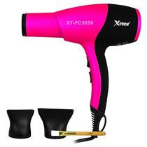 Secador Cabelos Profissional X-tech Bivolt- Rosa/preto 4500w
