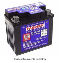 Bateria Moto Fabreck Ytx 5 Bs Cg 125 Titan Ks Titan Fan 125