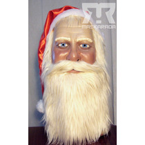 Máscaras Látex Papa Noel Navidad Disfraz Halloween