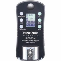 Yongnuo Rf-605n Rf605 Nikon Peça Avulsa D90 D7200 D5300 D510