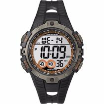 Relogio Timex T5k801ww/tn Maraton Alarm Crono Dual Time Luz