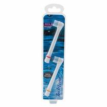 Refil Para Escova De Dente Elétrica Techline C/ 2 Unidade