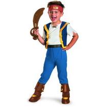 Disfraz Jake Y Los Piratas Disney Traje