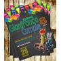 Invitación De Cumpleaños Zootopia Disney Photoshop