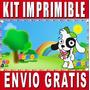 Kit Imprimible Doki Diseña Invitaciones Y Tarjetas
