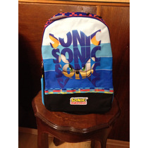 Mochila Sonic Sega Original Backpack