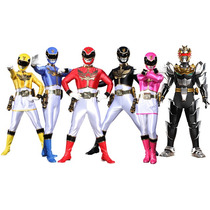 Power Rangers Mega Force - 4 Modelos - Producto Original.
