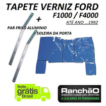 Tapete Verniz + Friso Caminhão Ford F1000 F4000 Até ...1992