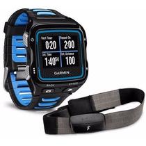 Relógio Gps Garmin Forerunner 920xt Cinta Cardiaca Pret/azul