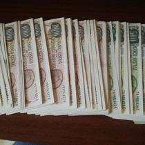 Billetes 500 Y 1000 Pesos - Correlativos (precio Por Unidad)