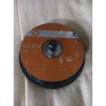 Cd-rw Hp Regrabable 12x / 700mb Data / 80min Music /25 Pack