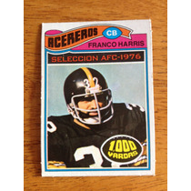 1977 Topps Mexican Nfl Acereros Steelers Franco Harris