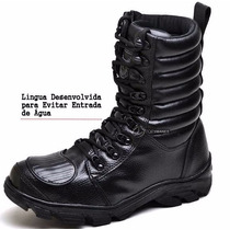 Bota Coturno Tático Milita Bope Masculino Feminino Exercito