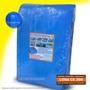 Lona Azul 7x4 Cobertura Reforçada Telhado Piscina 300 Micra
