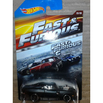 Hot Wheels Rapido Y Furioso 70 Dodge Charger R/t Serie 2015