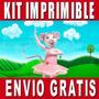 Kit Imprimible Angelina Ballerina Diseña Invitaciones