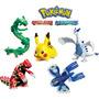 Pokemon Pikachu,lugia,groudon,kyogre Set125 Soles Set X5 Pzs