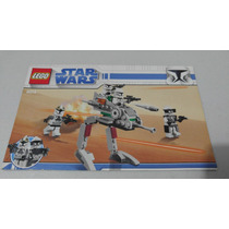 Lego 8014 Clone Walker Pack Star Wars Instructivo O Manual