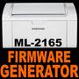 Reset Fix Chip Generador Firmware Ilimitado Samsung Ml-2165