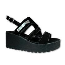 Sandalias Con Plataforma, Zapatos Mujer - Vs.colores! Envios