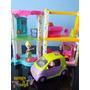 Shopping Da Polly Pocket Com Luzes Acessorios E Carro Mattel