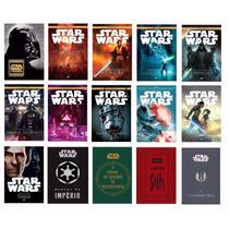 Coleção Imperdível Star Wars 15 Livros Lacrados