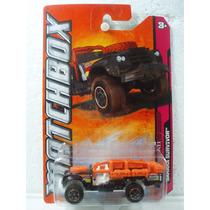 Matchbox Camioneta Sahara Survivor Negro 1:64 96/120
