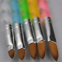 Pinceles Para Uñas Acrilicas X5