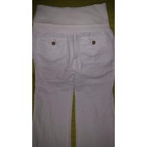 Pantalon De Dama Con Pretina Elastica Marca Mango Mng-usado