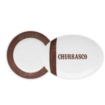 Conjunto Para Churrasco Tradição Oxford-dinca