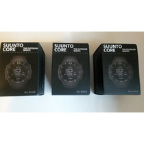 Relógio Suunto Core All Black, Original, Na Caixa, P.entrega