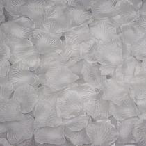 34 Pack X 150 Petalos Artificiales De Tela Color Blanco