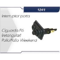 Interruptor Botão Da Porta Palio - Weekend - Siena Guarda Pó